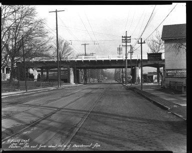 Street Improvement Photographs -- Box 32, Folder 09 (Beechmont Avenue) -- negative, 1931-01-25