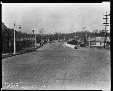 Street Improvement Photographs -- Box 32, Folder 09 (Beechmont Avenue) -- negative, 1931-01-26