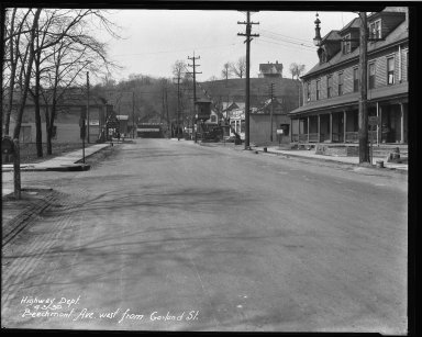 Street Improvement Photographs -- Box 32, Folder 10 (Beechmont Avenue) -- negative, 1930-04-03
