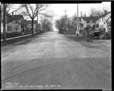 Street Improvement Photographs -- Box 32, Folder 10 (Beechmont Avenue) -- negative, 1931-03-12