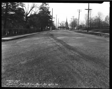 Street Improvement Photographs -- Box 32, Folder 10 (Beechmont Avenue) -- negative, 1931-03-12