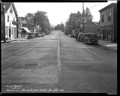 Street Improvement Photographs -- Box 32, Folder 15 (Beechmont Avenue) -- negative, 1931-10-20