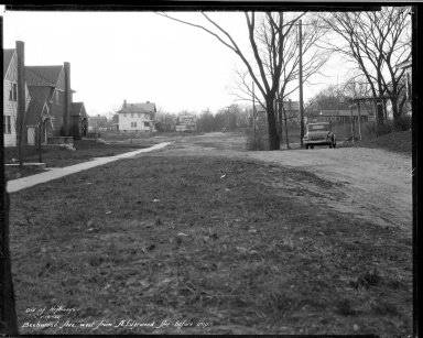 Street Improvement Photographs -- Box 32, Folder 14 (Beechwood Avenue) -- negative, 1932-01-18