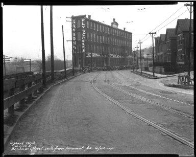 Street Improvement Photographs -- Box 32, Folder 15 (Beekman Street) -- negative, 1931-01-16