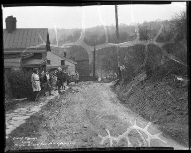 Street Improvement Photographs -- Box 32, Folder 21 (Biegler Street) -- negative, 1932-03-18