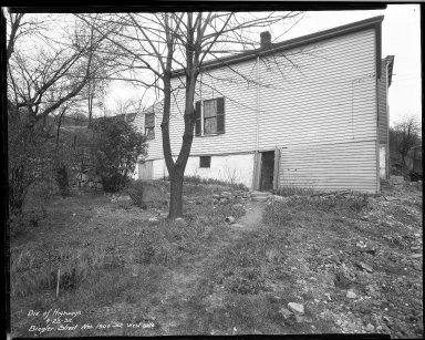 Street Improvement Photographs -- Box 32, Folder 21 (Biegler Street) -- negative, 1932-04-25