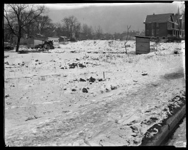 Street Improvement Photographs -- Box 32, Folder 25 (Boulevard Extension) -- negative, 1929