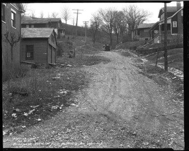 Street Improvement Photographs -- Box 32, Folder 27 (Brinkmeir Avenue) -- negative, 1931-02-10