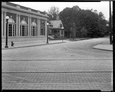 Street Improvement Photographs -- Box 32, Folder 43 (Cedar Avenue) -- negative, 1930