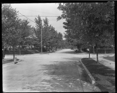 Street Improvement Photographs -- Box 32, Folder 44 (Celeron Avenue) -- negative, 1928