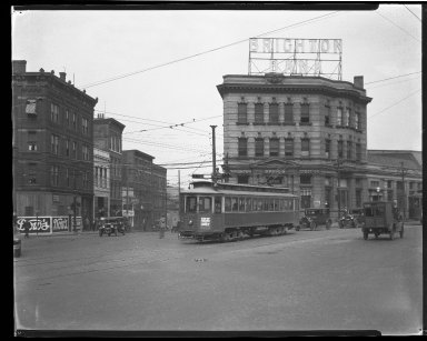 Street Improvement Photographs -- Box 32, Folder 45 (Central Avenue) -- negative, 1928
