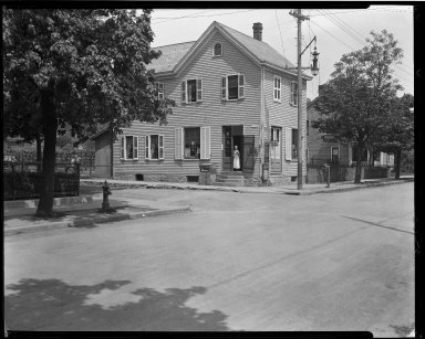 Street Improvement Photographs -- Box 32, Folder 49 (Chapman Avenue) -- negative, 1930