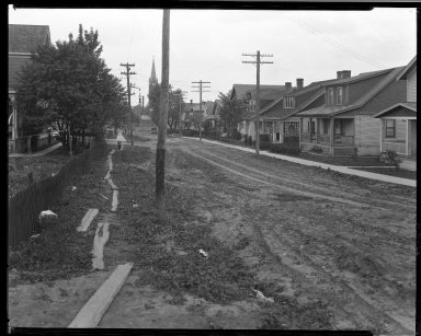 Street Improvement Photographs -- Box 32, Folder 49 (Chapman Avenue) -- negative, 1930