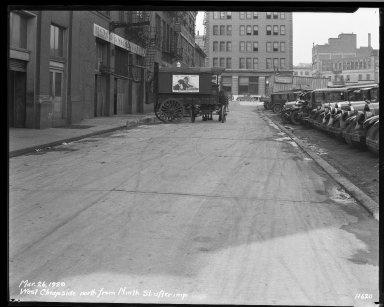 Street Improvement Photographs -- Box 33, Folder 03 (West Cheapside Street) -- negative, 1929-03-26