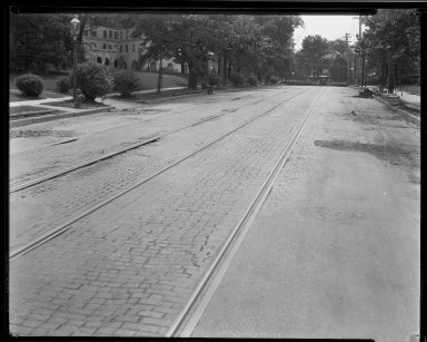 Street Improvement Photographs -- Box 33, Folder 08 (Clinton Springs Avenue) -- negative, 1926