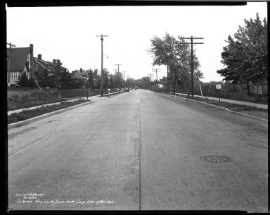 Street Improvement Photographs -- Box 33, Folder 14 (Colerain Avenue) -- negative, 1936-05-13
