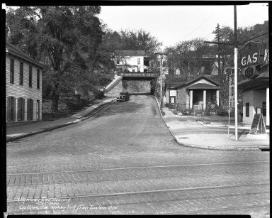 Street Improvement Photographs -- Box 33, Folder 15 (Collins Avenue) -- negative, 1940