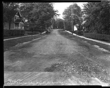 Street Improvement Photographs -- Box 33, Folder 16 (Conant Street) -- negative, 1930-09-08