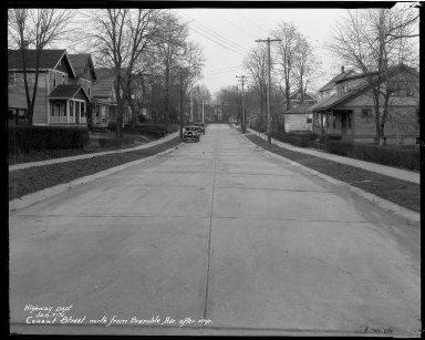 Street Improvement Photographs -- Box 33, Folder 16 (Conant Street) -- negative, 1931-01-07