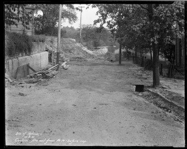 Street Improvement Photographs -- Box 33, Folder 17 (Conklin Avenue) -- negative, 1931-10-05
