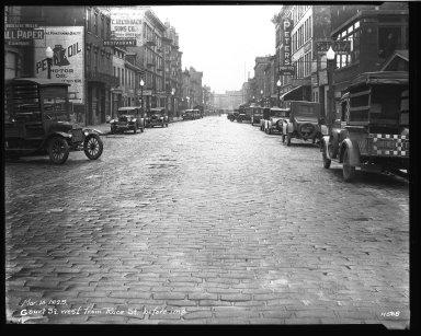 Street Improvement Photographs -- Box 33, Folder 24 (Court Street) -- negative, 1929-03-14