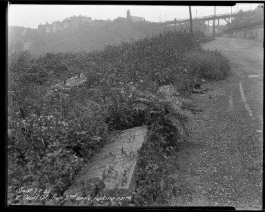 Street Improvement Photographs -- Box 33, Folder 26 (Court Street) -- negative, 1926-09-29
