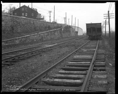 Street Improvement Photographs -- Box 33, Folder 33 (Cummins Street) -- negative, 1938-01-07