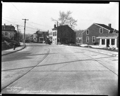 Street Improvement Photographs -- Box 33, Folder 34 (Cummins Street) -- negative, 1935-12-11