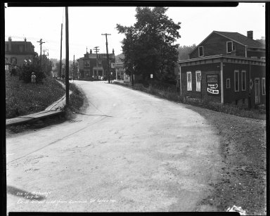 Street Improvement Photographs -- Box 33, Folder 34 (Cummins Street) -- negative, 1935-06-13