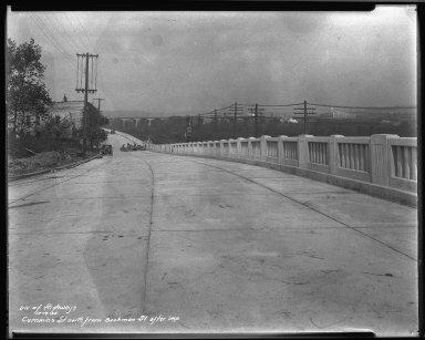 Street Improvement Photographs -- Box 33, Folder 35 (Cummins Street) -- negative, 1935-10-19
