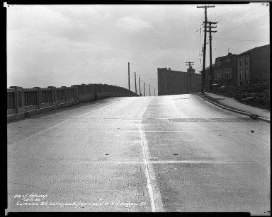 Street Improvement Photographs -- Box 33, Folder 36 (Cummins Street) -- negative, 1939-12-11
