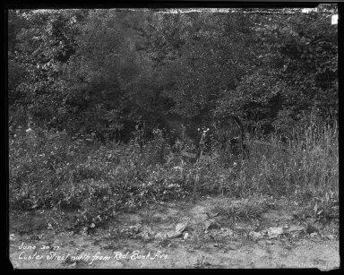 Street Improvement Photographs -- Box 33, Folder 37 (Custer Avenue) -- negative, 1927-06-30