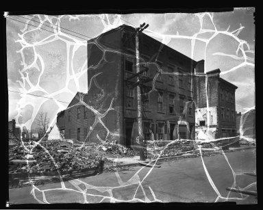 Street Improvement Photographs -- Box 33, Folder 38 (Cutter Street) -- negative, 1936