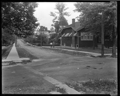 Street Improvement Photographs -- Box 33, Folder 43 (Davey Avenue) -- negative, 1929