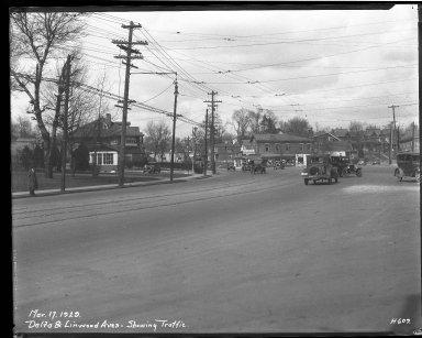 Street Improvement Photographs -- Box 33, Folder 50 (Delta Avenue) -- negative, 1929-03-17