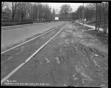 Street Improvement Photographs -- Box 33, Folder 52 (Delta Avenue) -- negative, 1929-03-06