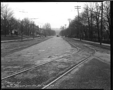 Street Improvement Photographs -- Box 33, Folder 53 (Delta Avenue) -- negative, 1931-02-21