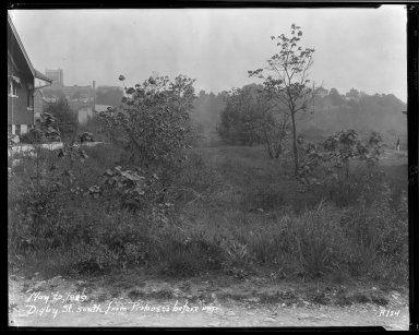 Street Improvement Photographs -- Box 34, Folder 05 (Digby Avenue) -- negative, 1929-05-20