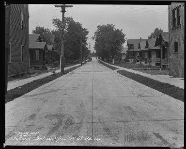 Street Improvement Photographs -- Box 34, Folder 06 (Dillward Avenue) -- negative, 1931-06-04