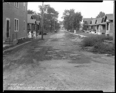 Street Improvement Photographs -- Box 34, Folder 06 (Dillward Avenue) -- negative, 1930-09-13