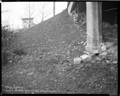Street Improvement Photographs -- Box 34, Folder 07 (Dixmyth Avenue) -- negative, 1940-12-23