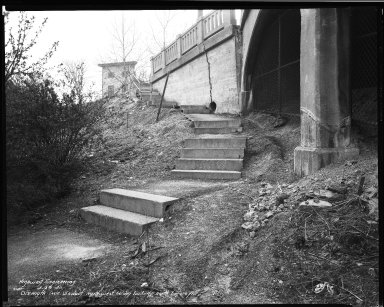 Street Improvement Photographs -- Box 34, Folder 07 (Dixmyth Avenue) -- negative, 1940-04-29