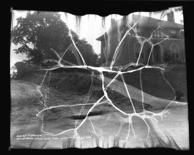Street Improvement Photographs -- Box 34, Folder 09 (Dovenshire Drive) -- negative, 1934-06-16, 9:00 A.M.