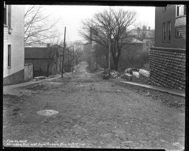 Street Improvement Photographs -- Box 34, Folder 15 (Earnshaw Avenue) -- negative, 1929-10-11