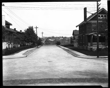 Street Improvement Photographs -- Box 34, Folder 15 (Earnshaw Avenue) -- negative, 1929