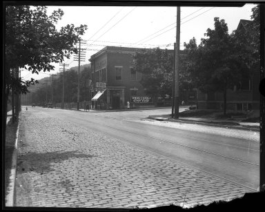 Street Improvement Photographs -- Box 34, Folder 18 (Eastern Avenue) -- negative, 1930