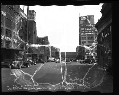 Street Improvement Photographs -- Box 34, Folder 29 (Eggleston Avenue) -- negative, 1936-08-10