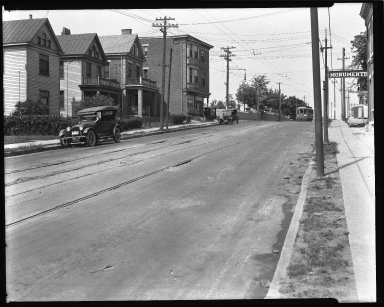 Street Improvement Photographs -- Box 34, Folder 31 (Eighth Street) -- negative, 1925