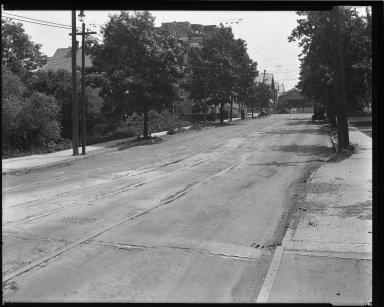 Street Improvement Photographs -- Box 34, Folder 31 (Eighth Street) -- negative, 1925