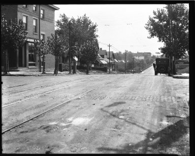 Street Improvement Photographs -- Box 34, Folder 31 (Eighth Street) -- negative, 1926